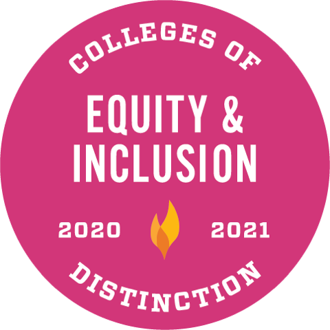 Equity & Inclusion Colleges of Distinction 2020-2021