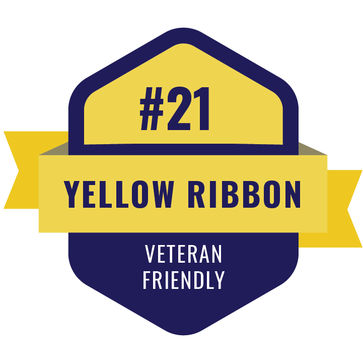 Yellow Ribbon Veteran friendly icon