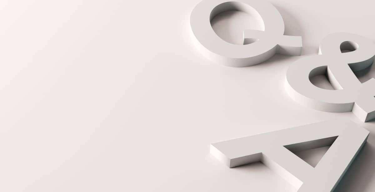 Q&A block letters