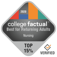 College Factual Top Ranked Non-Traditional Student Nursing Program